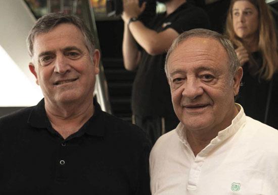 ראובן אבלגון ורביב ברוקמאייר / צילום: ויקטור לוי
