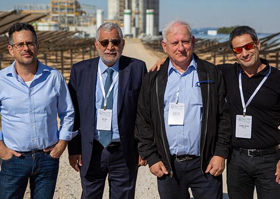 גיל־עד בושביץ (מימין), יאיר סרוסי, פיני כהן ורן שלח / צילום: אורי חבושי