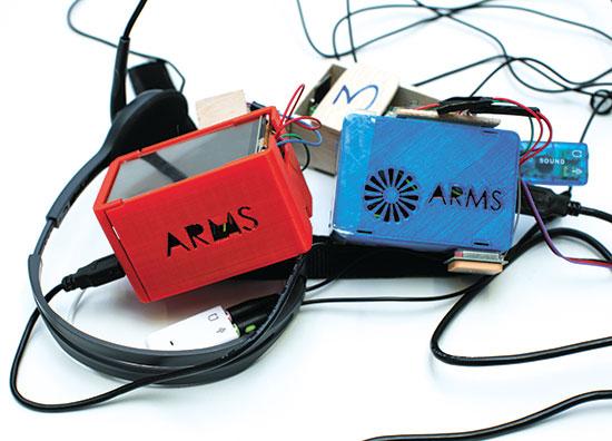 Arms - רשת ווקי טוקי משודרגת / צילום: המרכז הבינתחומי