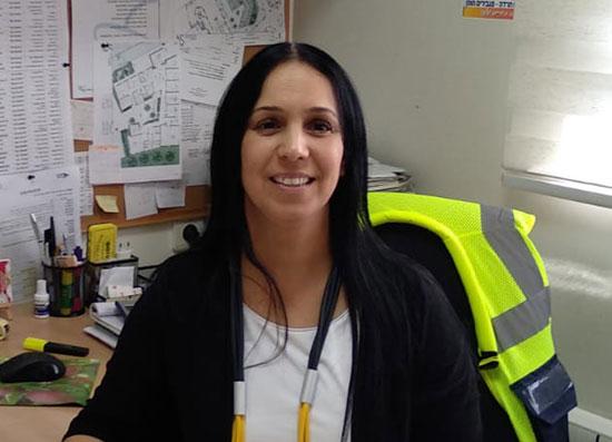 הילה גונן-ברזילי, מנהלת מרכז חוסן בשדרות במשרדה, אתמול / צילום: באדיבות המצולמת