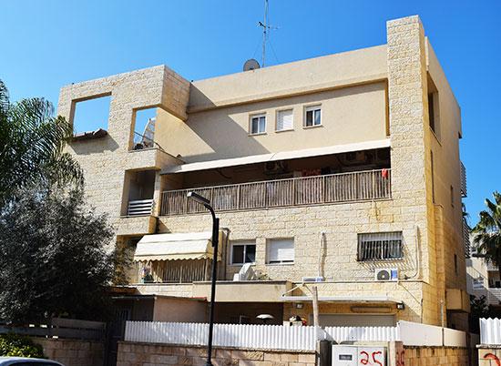 רחוב  יהודה הלוי 25, אור עקיבא / צילום: בר־אל