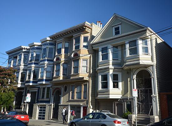 שכונת נו ואלי, סן פרנסיסקו / צילום: shutterstock