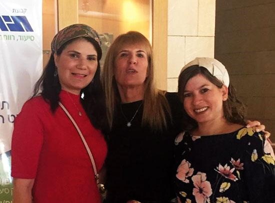מוריה ברמן, אורית בנבנישתי וליאת כהן  / צילום: טל שובל,
