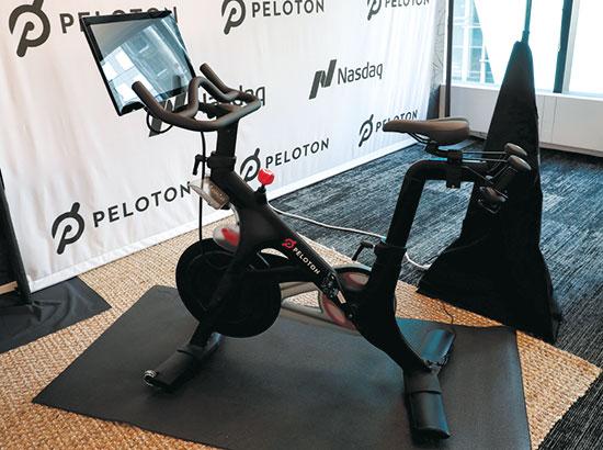 אופני כושר של חברת Peloton  / צילום: רויטרס EUTERS/Shannon Stapleton