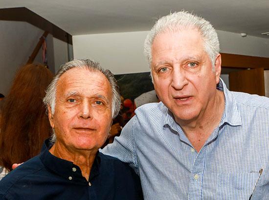 ליאון רקנאטי וקובי אשרת / צילום: שלומי יוסף,