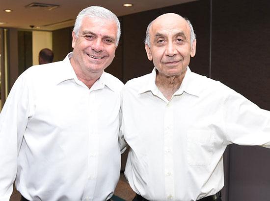 יצחק סוארי ואבי לוי  / צילום: אוהד הרכס ואיתי בלסון מכון ויצמן למדע