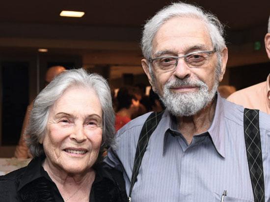 """פרופ' רות ארנון וד""""ר אוריאל ארנון / צילום: אוהד הרכס ואיתי בלסון מכון ויצמן למדע"""
