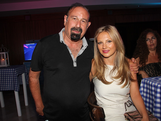 מני ויצמן עם בת זוגו אנה / צילום: יוסי כהן