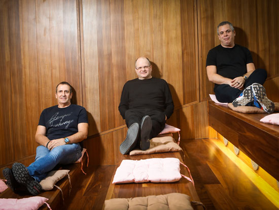אברהמי, שוייד ו־וולדמן / צילום: שלומי יוסף