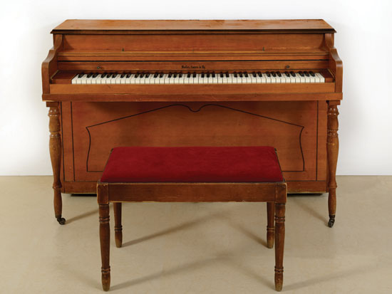 הפסנתר של אריק איינשטיין/ צילום: בית מכירות קדם