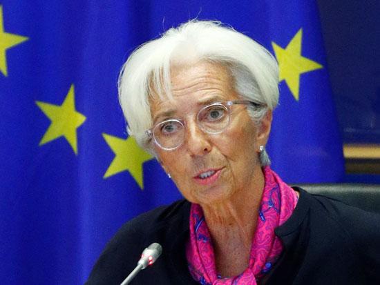 יור קרן המטבע כריסטין לגארד / צילום: FRANCOIS LENOIR