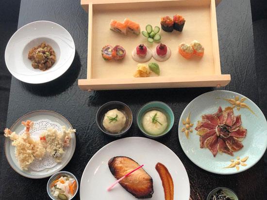 ארוחת קיאסקי ביאקימונו/ צילום: יאקימונו