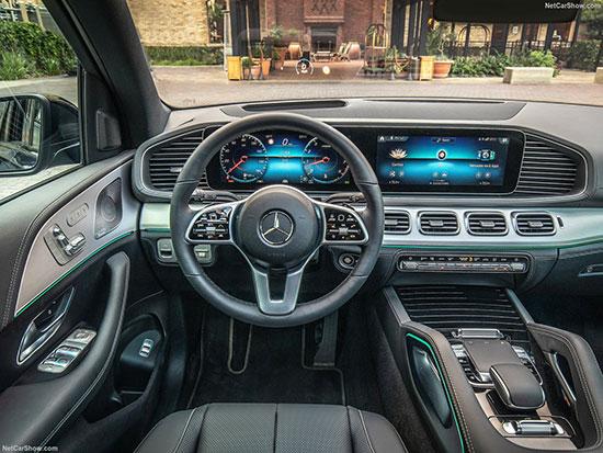 "Mercedes Benz GLE 2020 מבפנים / צילום: יח""צ"