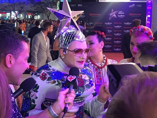 השטיח הכתום בפתיחת אירועי האירוויזיון בישראל / צילום: מיכל רז-חיימוביץ'