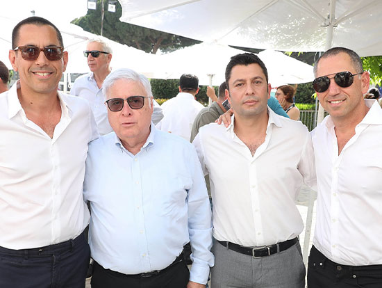 צחי ארבוב, זיו יעקבי, רמי נוסבאום ואילן קפון / צילום: אלירן אביטל