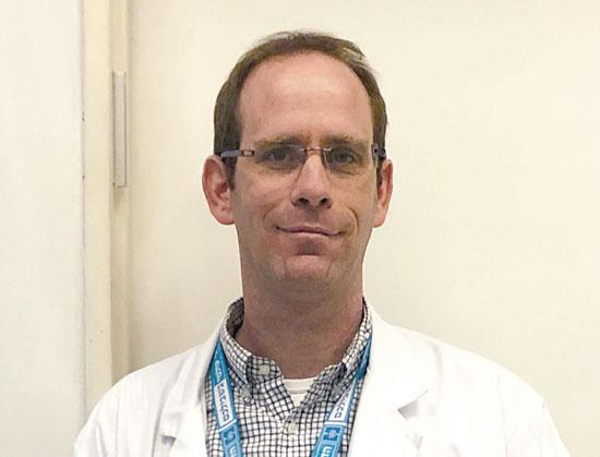 """ד""""ר אורי דיאור / צילום: המרכז הרפואי הדסה"""