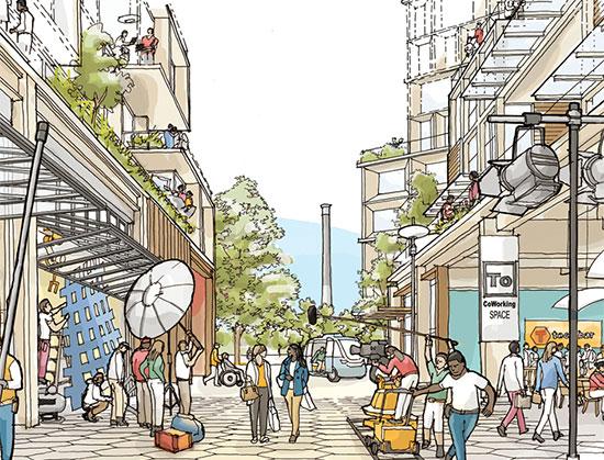 """פרויקט Sidewalk Toronto / הדמיה: אתר החברה, יח""""צ"""