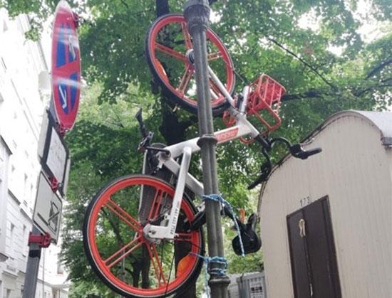 מחאה נגד אופניים חשמליים בברלין / צילום: Agata Maslowska