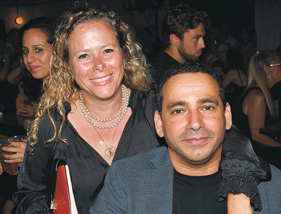 יואל חסון ואיילת נחמיאס ורבין / צילום: אביב חופי