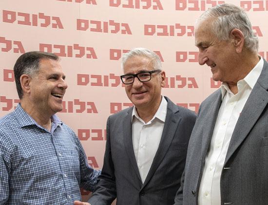 גד פרופר, אמיר חייק ואיציק צאיג / צילום: כדיה לוי