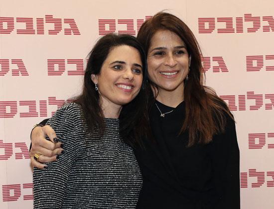 מירב בן ארי ואיילת שקד / צילום: כדיה לוי