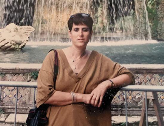 מירה אלטמן  באיטליה / צילום: אלבום פרטי