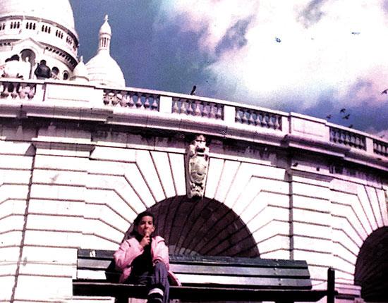 תמר גרזון בפריז / צילום: אלבום פרטי