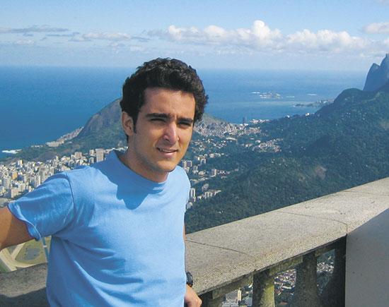 אורי פדרמן בברזיל / צילום: אלבום פרטי