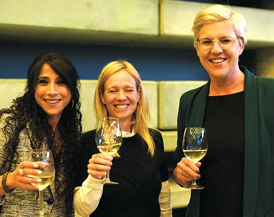 פיונה דרמון, זיוה איגר ועופרה אשד / צילום: אלעד גוטמן