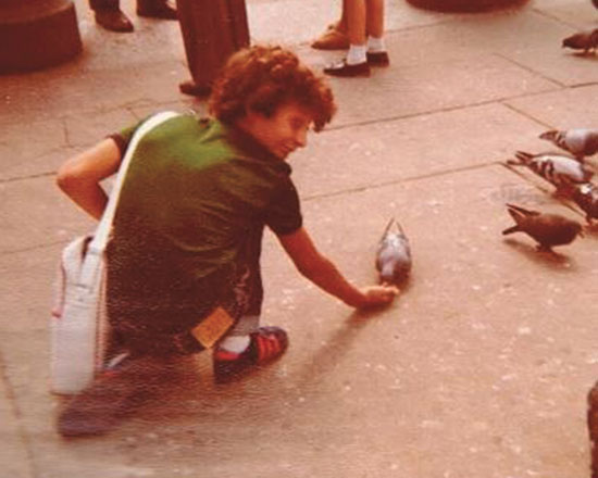 נתי ביאליסטוק כהן בלונדון / צילום: אלבום פרטי