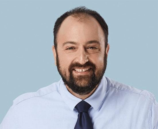 """עו""""ד אוהד גלעדי, שותף במשרד נ. פינברג ושות'  / צילום: אופיר אייב"""