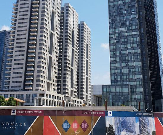 פרויקט בניה חדש ברחוב הארבעה / צילום: גיא ליברמן, גלובס