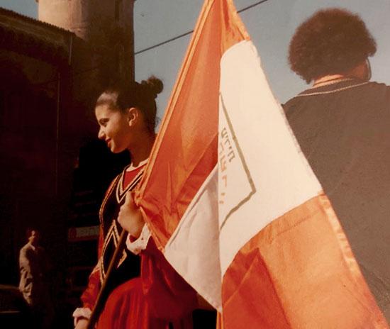 בשמת פלג סרצ'נסקי באירופה / צילום: אלבום פרטי