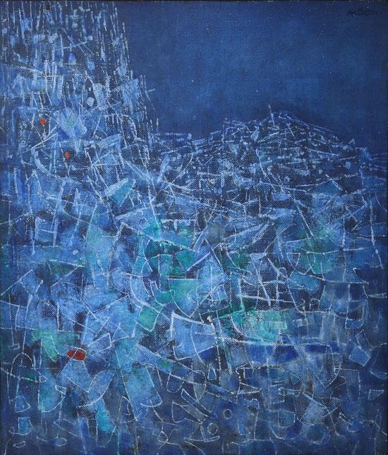 ציור של מרדכי ארדון / באדיבות בית המכירות הפומביות תירוש