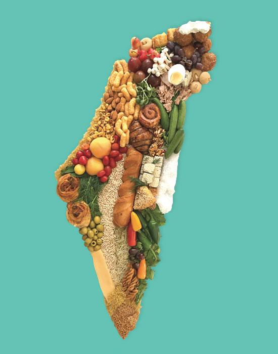 אוכל מקומי / עבודה של גילת אורקין