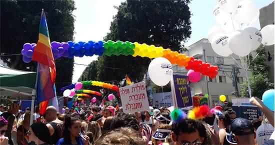 """מצעד הגאווה בת""""א היום / צילום: רוני זקן-גלילי"""