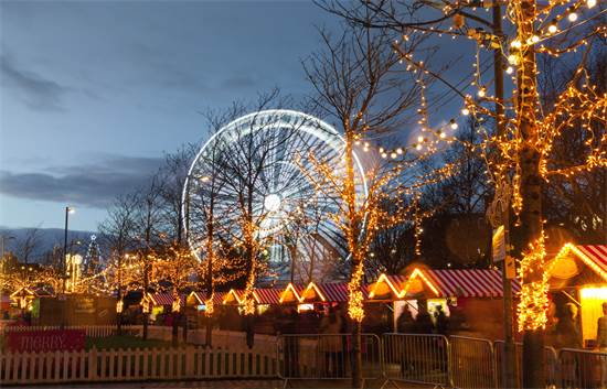שוק חג מולד בגאלווי, אירלנד / צילום: שאטרסטוק