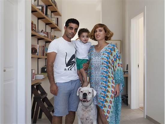 משפחת זאבי, קיבוץ כפר גלעדי / צילום: עמית הרמן