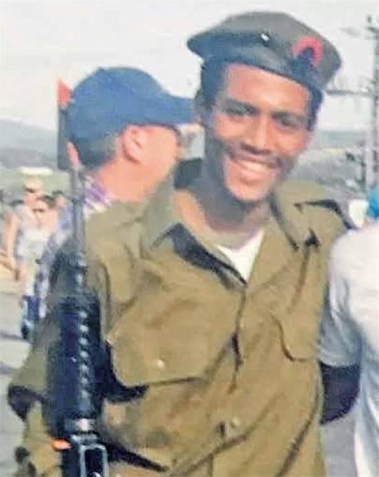 יהודה אנטנך ביאדגה בזמן שירותו הצבאי / צילום באדיבות המשפחה