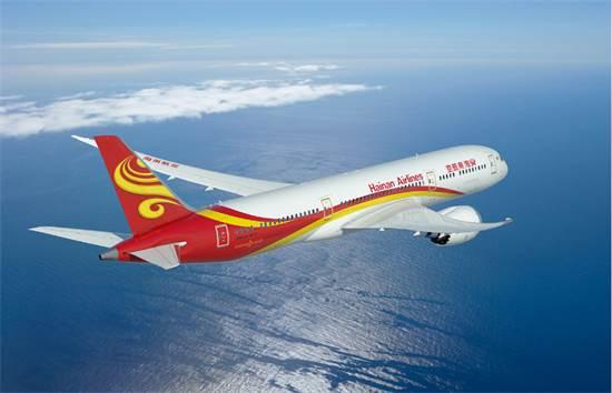 המטוסים של Hainan מככבים על מסלולי ההמראה/צילום: Hainan Airlines