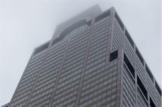 הבניין במנהטן בו התנגש המסוק /צילום: REUTERS/Brendan McDermid