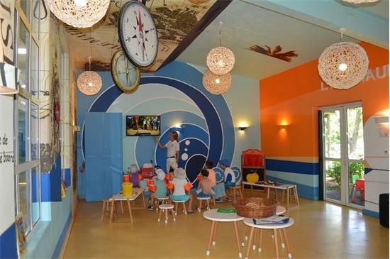 ממלכת הילדים במועדון La Pointe aux Canonniers. מסגרות לילדים מגיל 4 חודשים ועד 17 שנים / צילום: דפנה גלפז