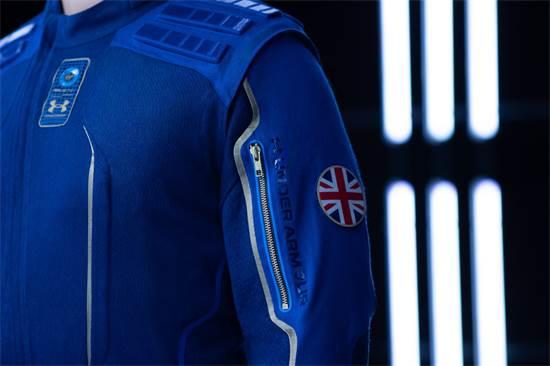 ג'קט החלל של אנדר ארמור / צילום: Virgin Galactic