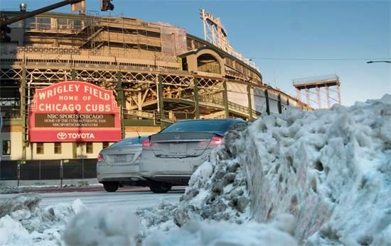 גל הקור בשיקגו / REUTERS/Pinar Istek