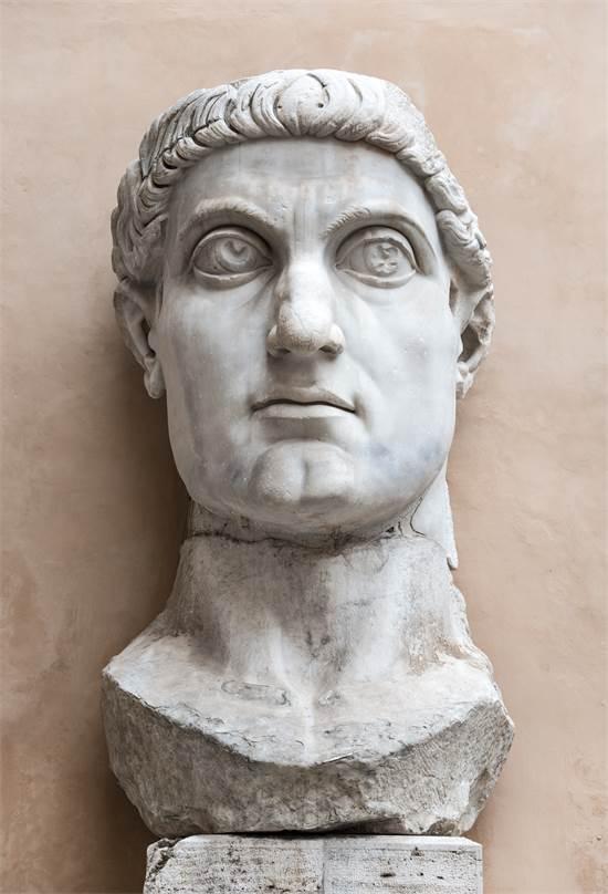 הקיסר קונסטנטינוס. הפך את הנצרות לדת מדינה / צילום: שאטרסטוק