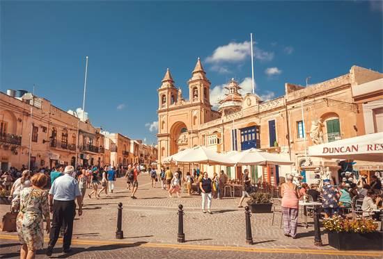 עיירת מרסשלוק במלטה / צילום: שאטרסטוק