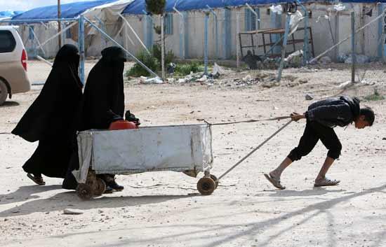 מחנה הפליטים אל־האול בסוריה / צילום: רויטרס - Ali Hashisho