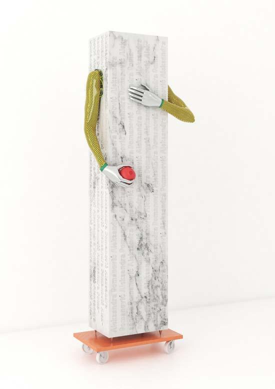 עבודה של אלכסנדרה דומונוביץ / צילום: אייל אגיבייב, באדיבות המרכז לאמנות עכשווית תל אביב