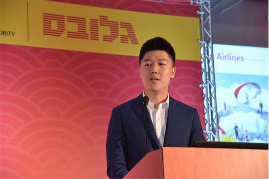 קסייהקום וואנג (Xiaocun Wang) מנהל השיווק הבינלאומי של חברת Hainan/צילום: תמר מצפי