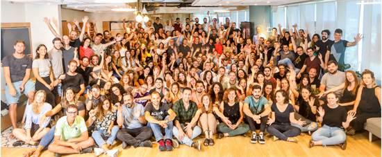 עובדי חברת מאנדיי, במשרדים בתל אביב / צילום: שלומי יוסף, גלובס